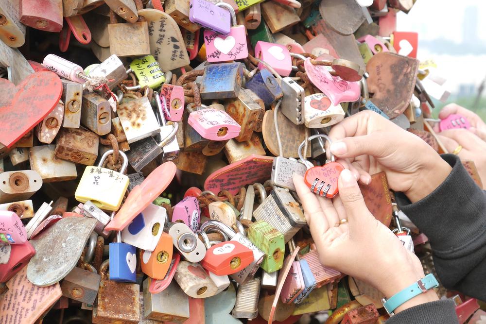 Paris, France Love Locks