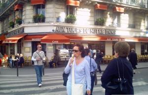 tour notre dame paris, france