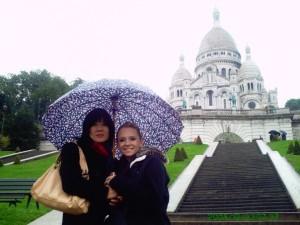 Monmartre Desaraev Sacred Heart Basilica Scre ceur Paris