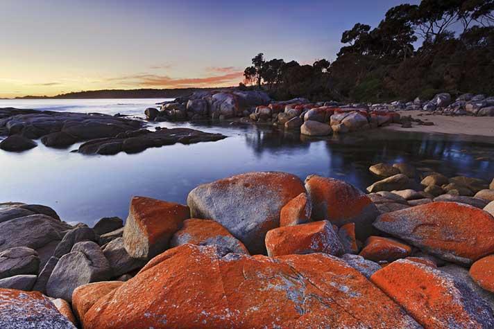 Bay of Fires, Tasmania Australia