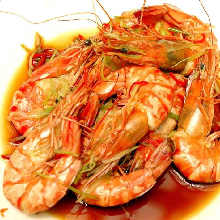 """Drunken Shrimp"""" is a popular seafood dish that is quite beloved ..."""