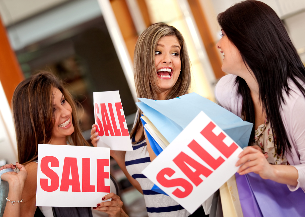 Bargain shopping, sales, discount deals. Shop smart and save more.