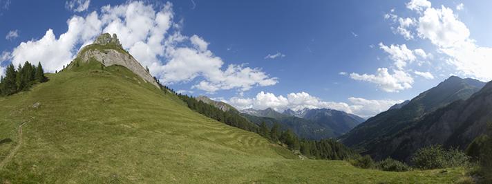 Kals am Großglockner, Austria, Alpine Hotels at high altitude.