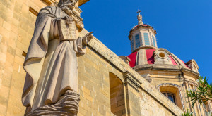 Parish church in St. Margaret In Antioch, Malta| Travel islands in Mediterranean Sea